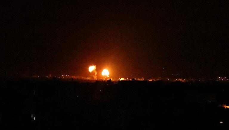 Izraēla veikusi gaisa triecienus Gazas joslā