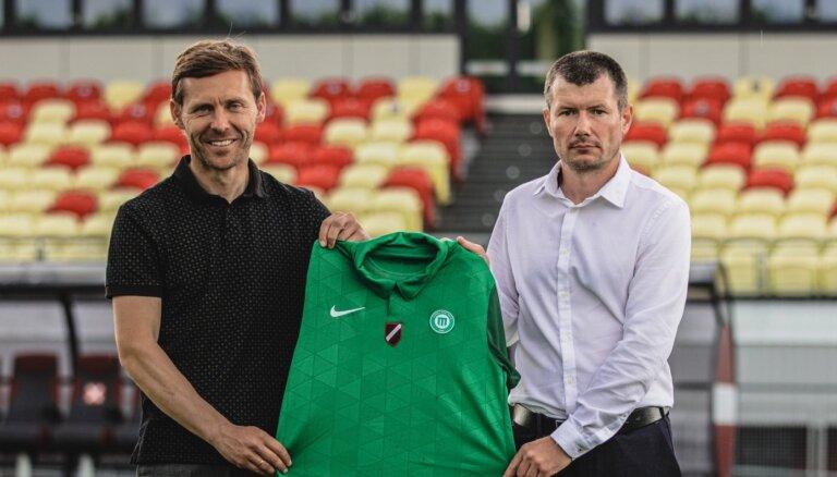 'Metta' komandu vadīs ilggadējais akadēmijas treneris Gluščuks