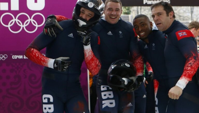 Britu bobslejists: blēži mums laupījuši medaļu izcīnīšanas brīdi