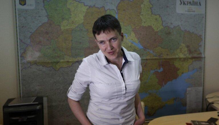 """Савченко назвала строительство стены на границе Украины с РФ """"тупым выбрасыванием денег"""""""