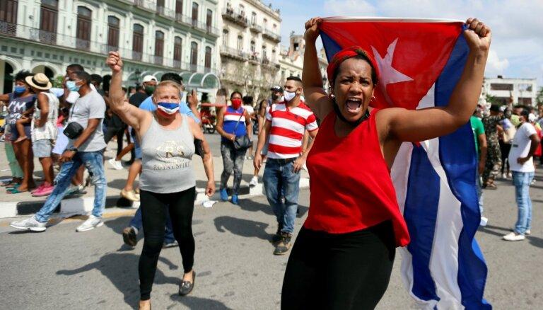 Āris Jansons: Protesti atsauc Kastro no pensijas