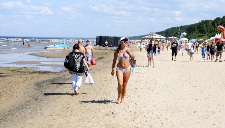 В Юрмале стало существенно больше туристов: лидеры по приросту - Россия, Украина и Беларусь