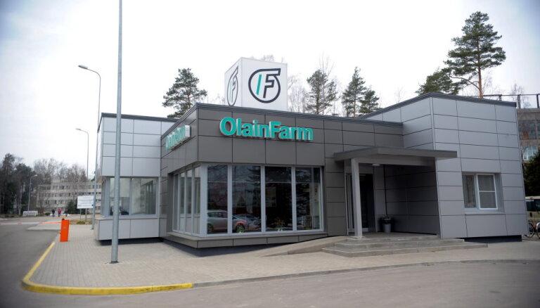 Jūnija vidū 'Olainfarm' akcionāri lems par peļņas izlietošanu un apstiprinās gada pārskatu