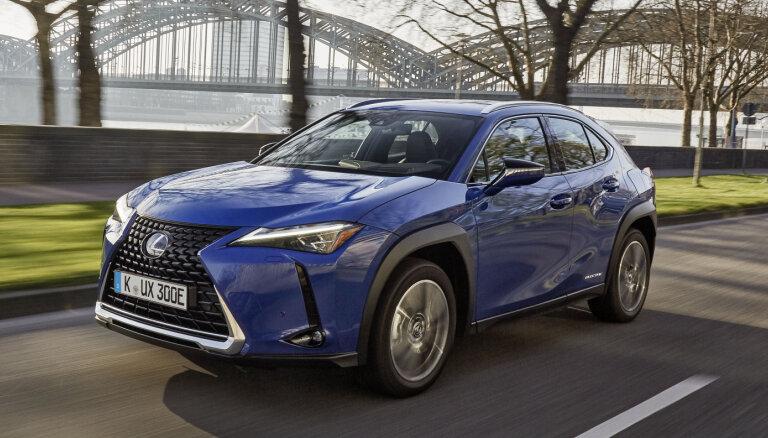 'Lexus' pirmais sērijveida elektromobilis 'UX 300e'