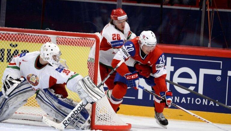 Norvēģija, uzvarot Baltkrieviju, saglabā cerības uz iekļūšanu 'play-off'
