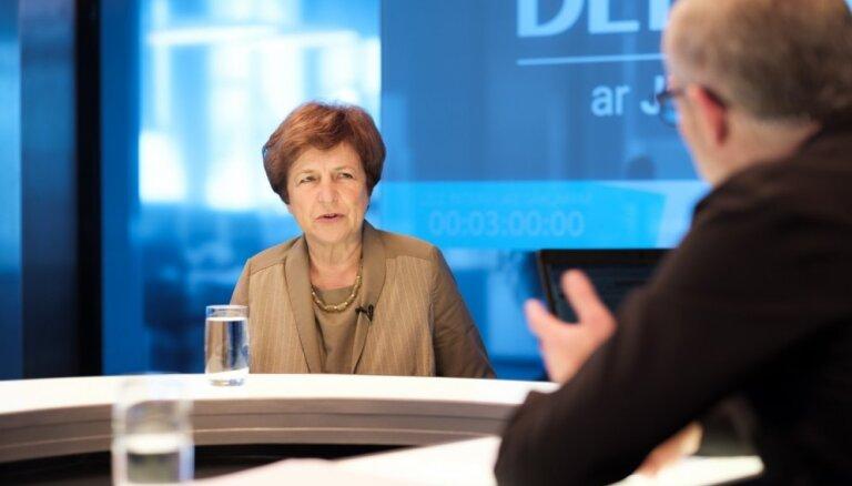 Ždanoka tiesā pārsūdzējusi CVK lēmumu par viņas svītrošanu no Saeimas vēlēšanu saraksta