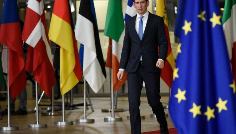 Migrācijas ierobežošana ir instruments antisemītisma apkarošanā, uzskata Austrijas kanclers