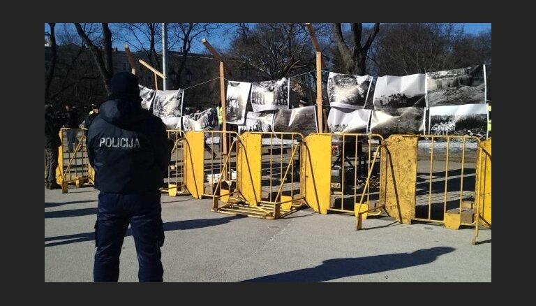 Policija arī šogad 16.martā Brīvības pieminekļa laukumā izvietos barjeras