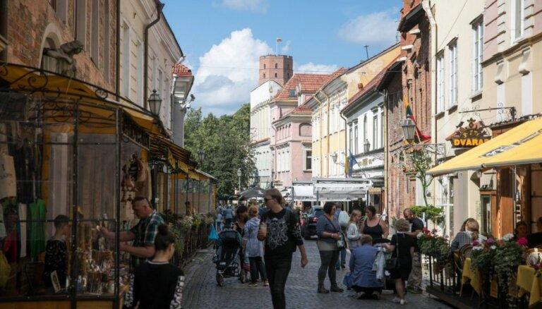 С июля туристы в столице Литвы будут платить новый налог