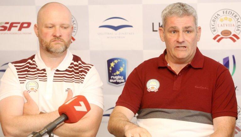 Latvijas regbija izlases treneris: treniņu nav bijis daudz, bet puiši labi izprot spēli un ātri mācās