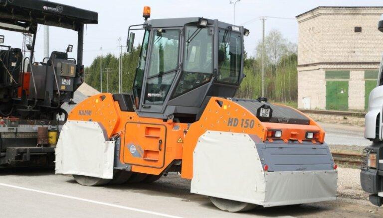 В Латвии некому строить дороги: компании не могут найти работников