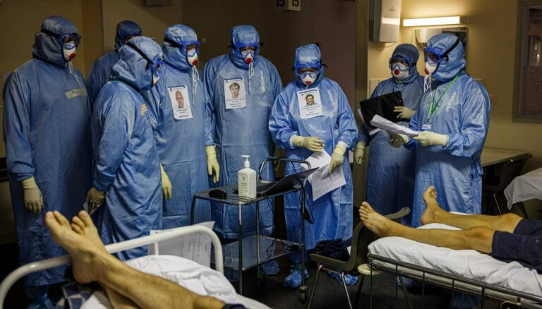 Krievijā konstatēts jaunais koronavīrusa variants AY.4.2