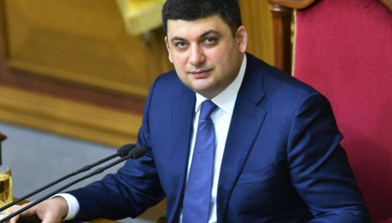 Ukrainas premjers paziņo par nodomu demisionēt