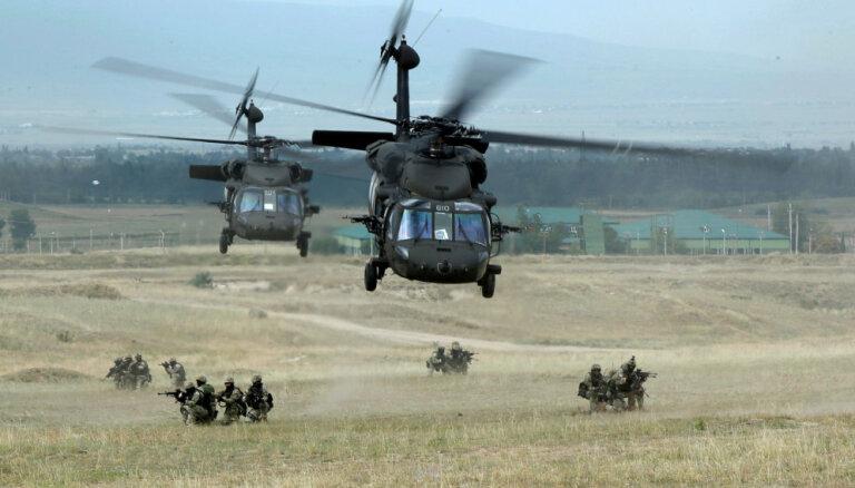 CША разместят в Латвии больше вертолетов Black Hawk и увеличат контингент военнослужащих
