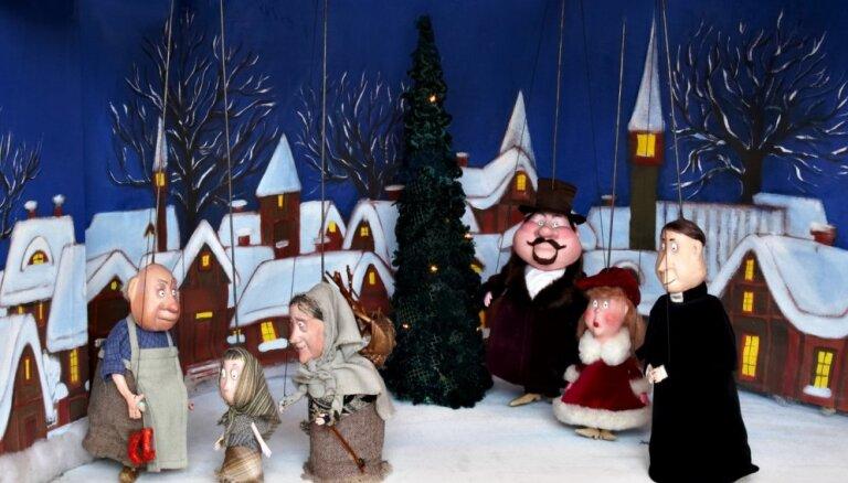Decembrī Leļļu teātrī piedāvā īpašu ziemas izrāžu repertuāru