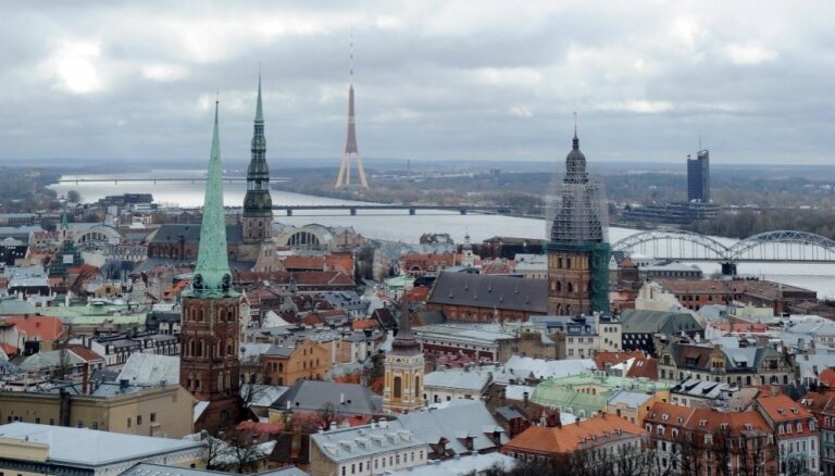 За 17 лет количество жителей в центре Риги уменьшилось на 40%