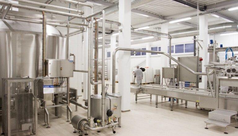 ФОТО: у Tukuma piens – новейшее в регионе производство творога