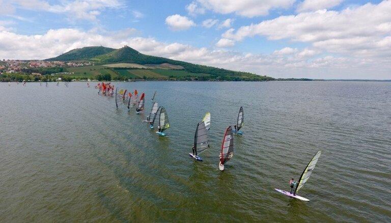 Matīsei bronza Eiropas čempionātā vindsērfingā