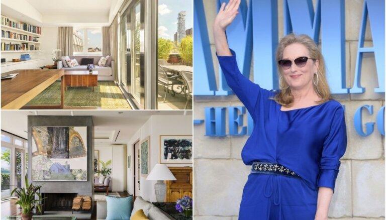 Merila Strīpa, Andželīna Džolija un citas: kādus mājokļus izvēlējušās slavenas aktrises