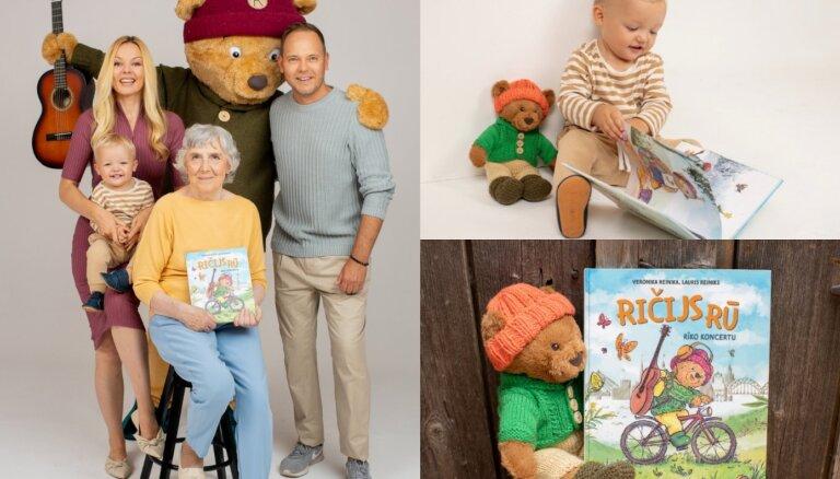 Reiniku ģimene sarūpējusi dziesmu grāmatu vismazākajiem – 'Ričijs Rū'