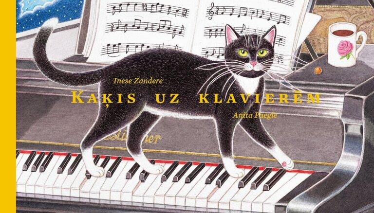 Izdota jauna Ineses Zanderes dzejoļu grāmatu bērniem ar Anitas Paegles ilustrācijām