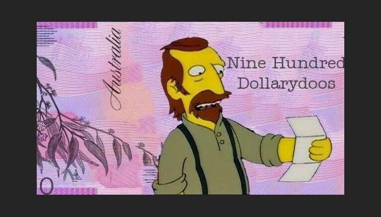 Desmitiem tūkstošu 'Simpsonu' fanu aicina mainīt Austrālijas valūtu