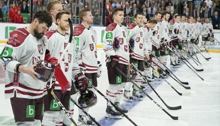 Balso par Latvijas hokeja izlases spožāko spēlētāju visa pasaules čempionāta garumā