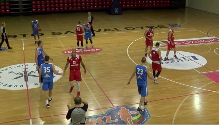 'Ventspils' basketbolisti pirmajā pārbaudes spēlē uzvar Muižnieka trenēto komandu