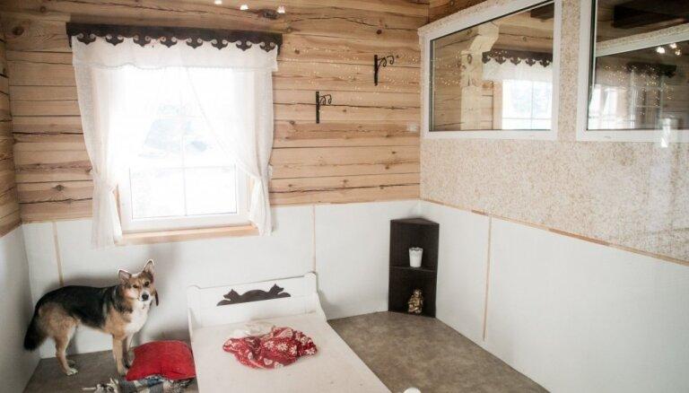 ФОТО. Как выглядит литовская гостиница для животных с роскошными комнатами и террасами