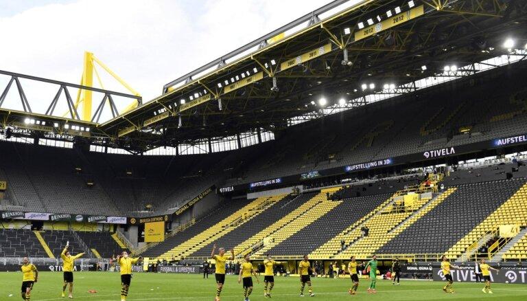 Sports Eiropā atgriežas ar Vācijas futbola bundeslīgas spēlēm