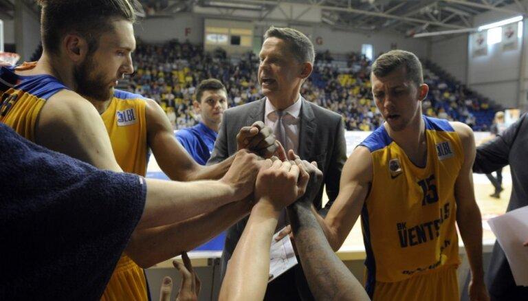 'Ventspils' basketbolisti LBL turpina uzvaru sēriju; 'Jūrmala'/'Fēnikss' pirmais zaudējums