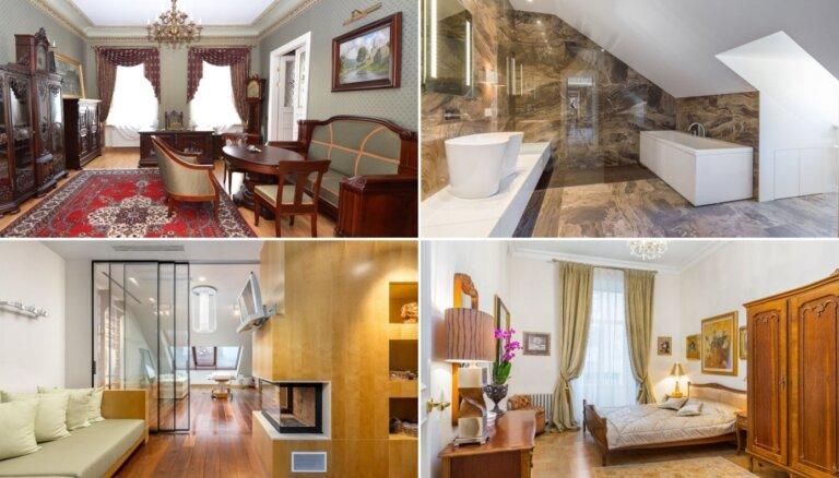 Ieeja tikai bagātajiem: Kā izskatās visdārgākajos Rīgas dzīvokļos, kurus var nopirkt