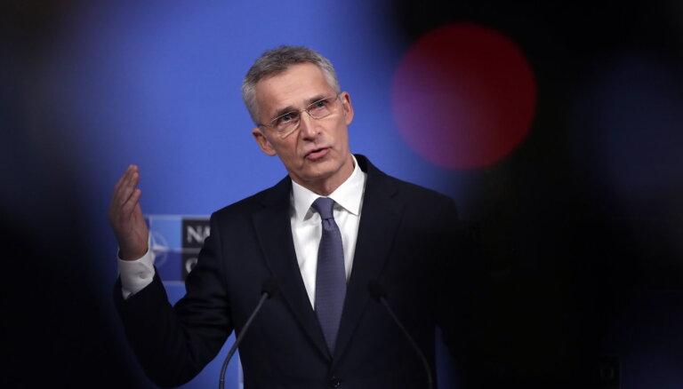 Stoltenbergs: Visas NATO valstis ir vienotas attieksmē pret Baltkrievijas rīcību