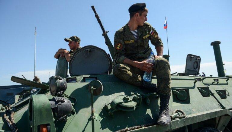 Россия объявила о начале отвода войск от границы с Украиной