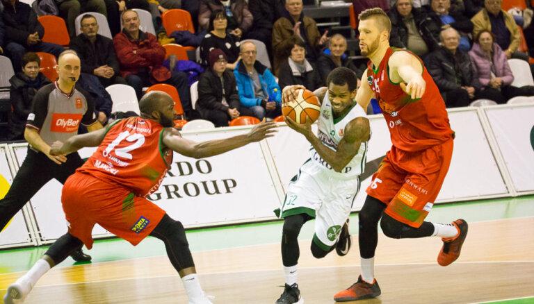 'Valmiera'/ORDO basketbolisti Kārļa atgriešanās mačā spraigā LBL cīņā uzvar 'Liepāju'/'Triobet'