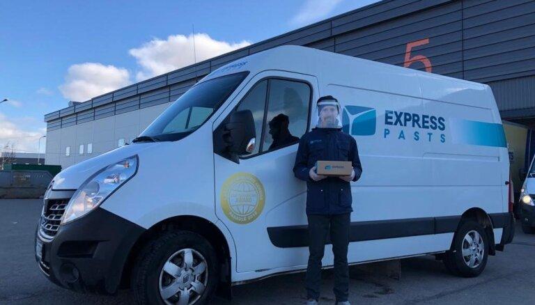 'Latvijas Pasta' Eksprespasta kurjeru serviss ieguvis pirmo vietu pasaulē