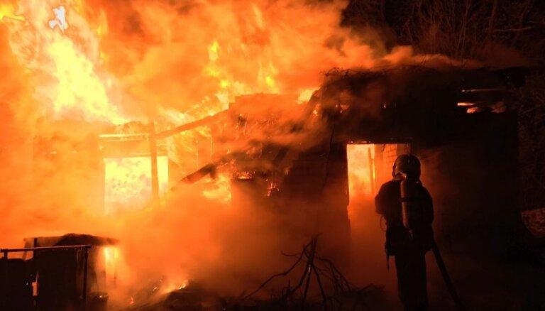Трагические сутки в Лудзенском крае: в огне погибли три человека