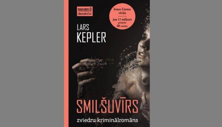 Iznācis zviedru bestsellers – Lārsa Keplera 'Smilšuvīrs'