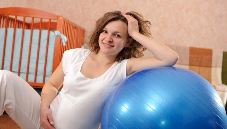 Vingrošana grūtniecības laikā var pasargāt bērnu no augsta asinsspiediena riska nākotnē