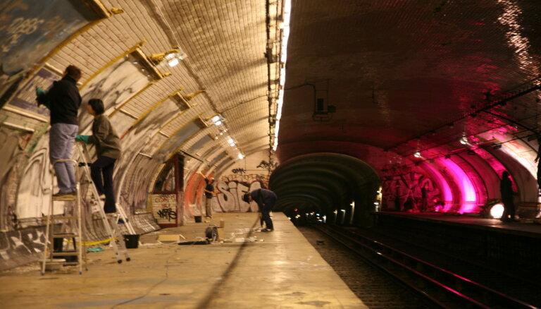 Заброшенную станцию метро в Париже переделают в бар