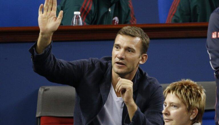Ukrainas futbola zvaigzne Ševčenko pievienojas valstsvienības treneru korpusam