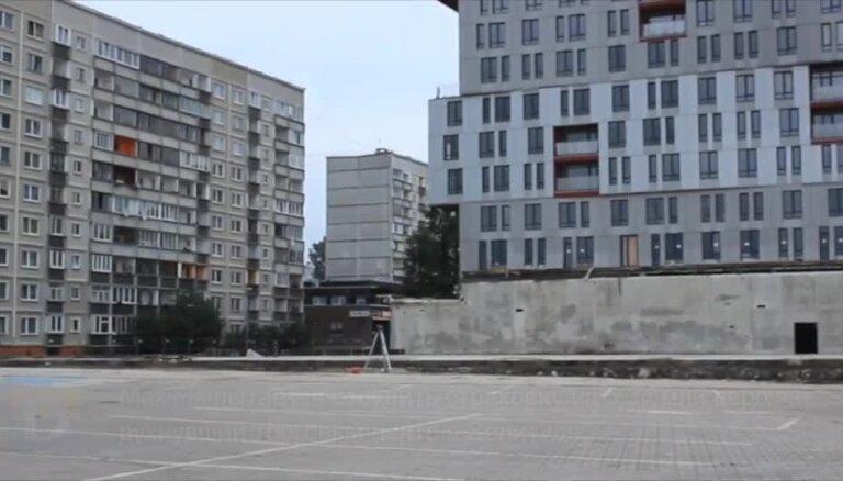 Maxima пытается отсудить страховку на 5,34 млн евро за рухнувший торговый центр в Золитуде