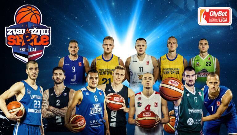 Noteikts 'Olybet' LBL sastāvs Zvaigžņu spēlei pret Igaunijas līgas 'spīdekļiem'
