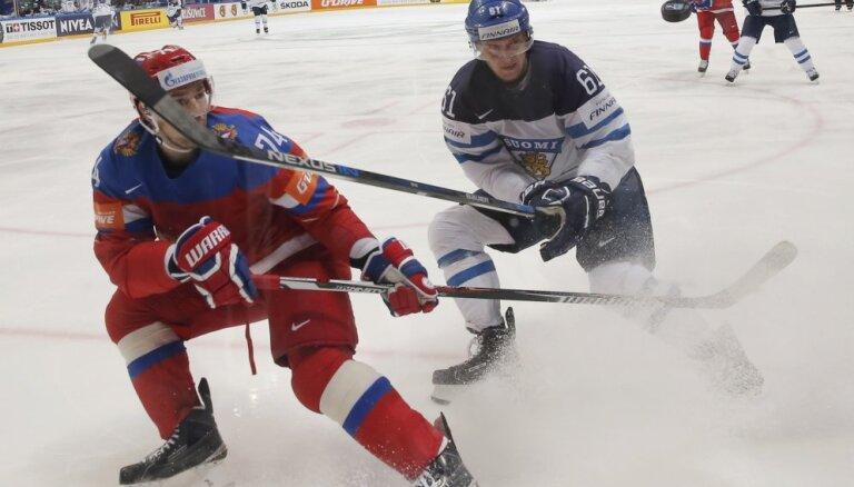 Финны не пускают сборную России в финал домашнего первенства