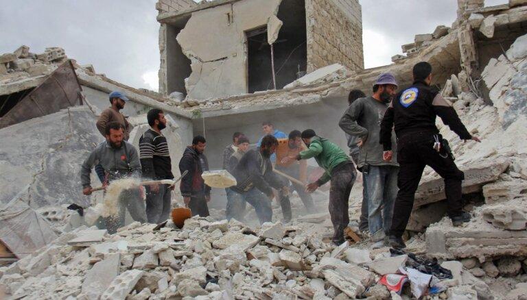 Россия проголосовала против резолюции ООН о прекращении боев в Сирии