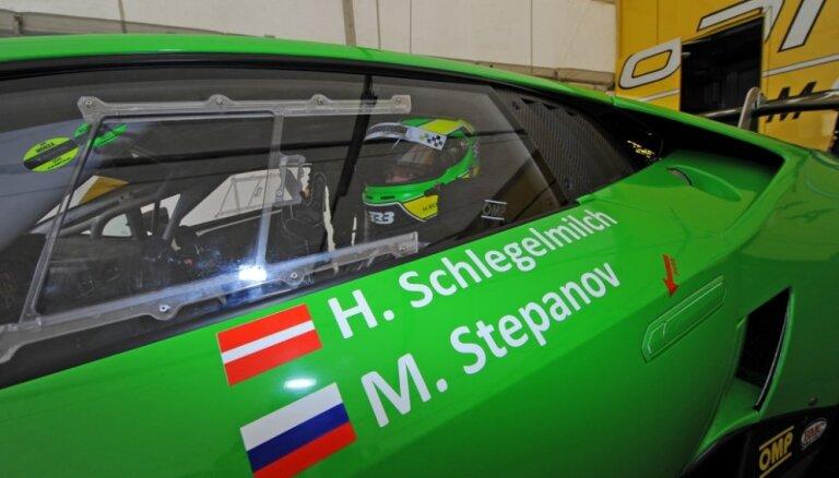 Haralds Šlēgelmilhs nākamajā 'Lamborghini Blancpain Super Trofeo' posmā cer uz godalgotu vietu