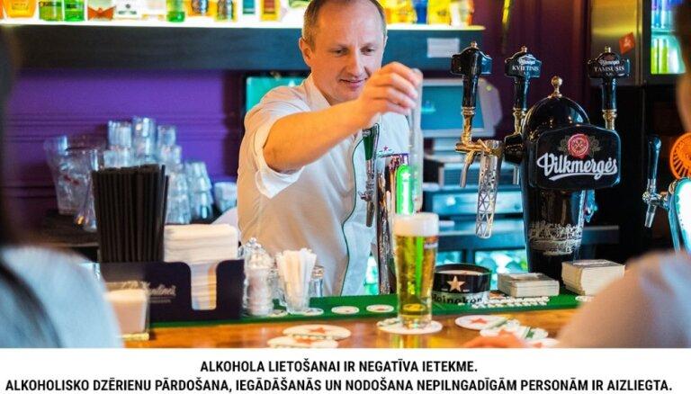 Klientu apkalpošanas kultūra Latvijā alus bāros sāk līdzināties Rietumiem
