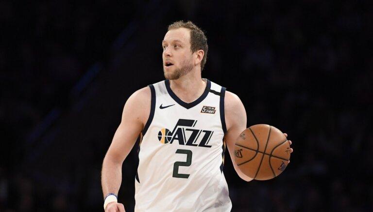 'Jazz' uzbrucējs Inglss: ģimenes labad neriskēšu spēlēt basketbolu