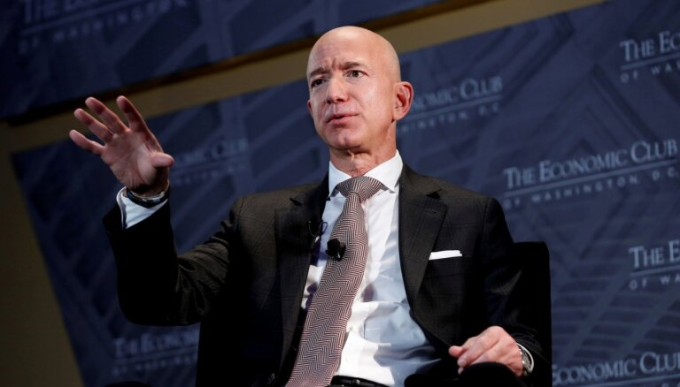 'Amazon' atbalsta Baidena plānu paaugstināt uzņēmumu ienākuma nodokli