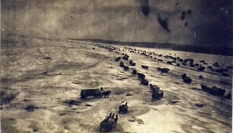 Austrumprūsijas traģēdija – kā tūkstošiem bēgļu ziemā šķērsoja Vislas līci